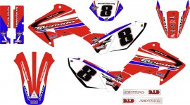 XR 250 TORNADO - 2006 A 2008 honda racing 8 box 7